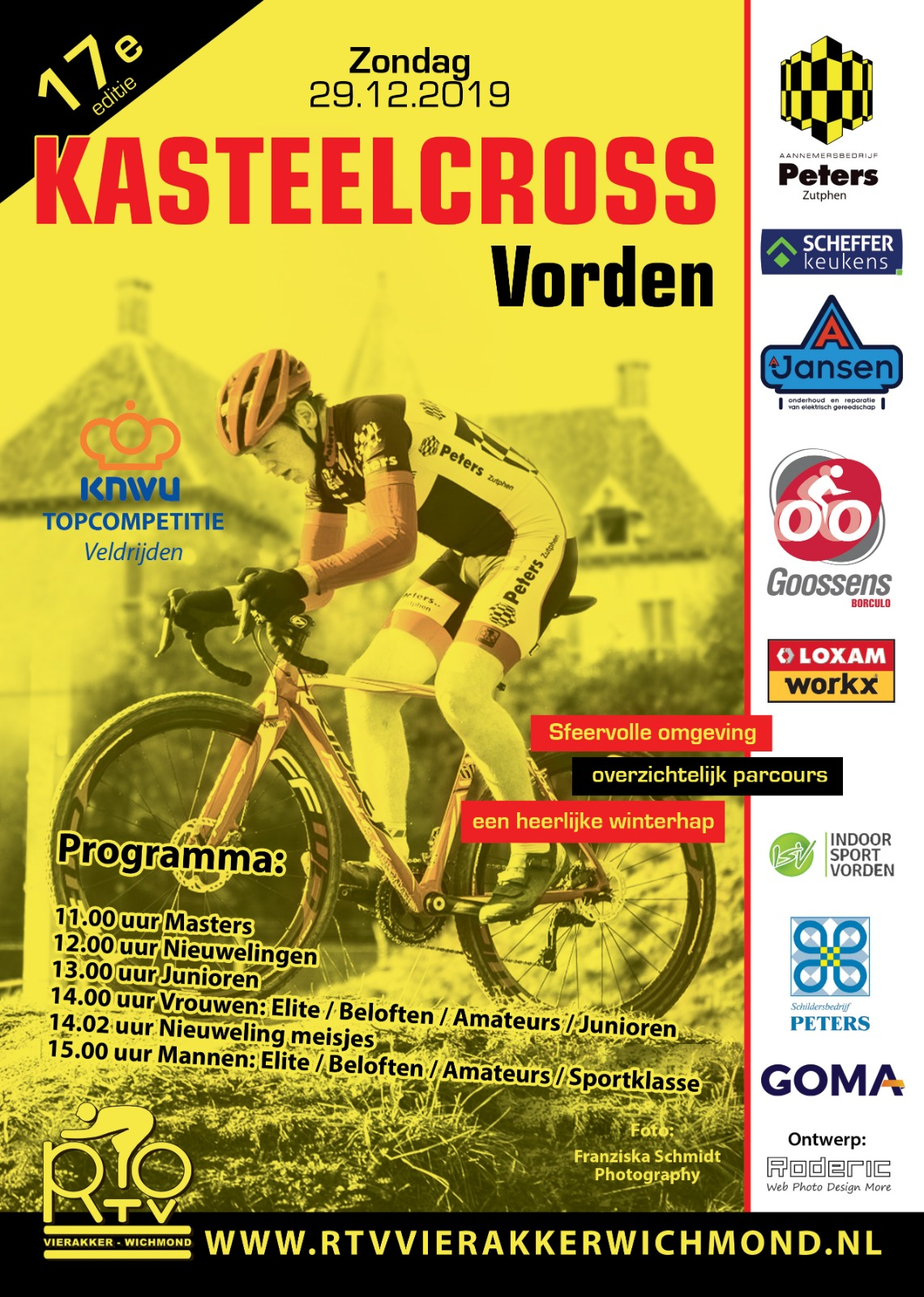 Flyer Kasteelcross 29 december 2019